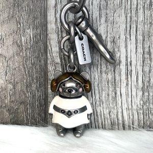 Coach x Star Wars Princess Leia Bear Key Bag Charm